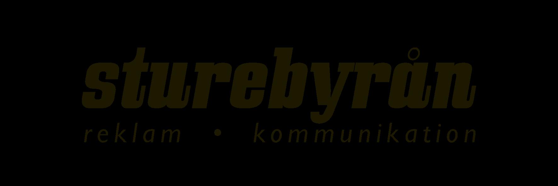 sturebyrån logo för reklambyrå